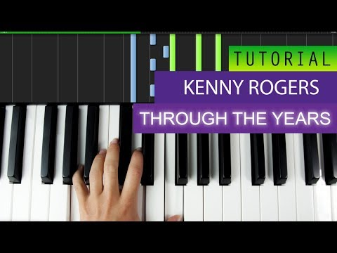 Kenny Rogers Through The Years Piano Tutorial