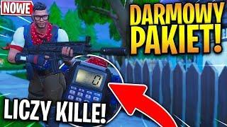 *DARMOWY* PAKIET! SKIN I PLECAK LICZĄCY LIKWIDACJE! | Fortnite - Battle Royale