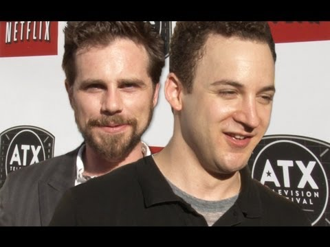 Boy Meets World's Ben Savage & Rider Strong Reunite on the ATX Red Carpet to Talk Girl Meets World!