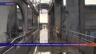 Yvelines | Un exercice de sécurité au SIAAP, 2 ans après l'incendie de l'usine
