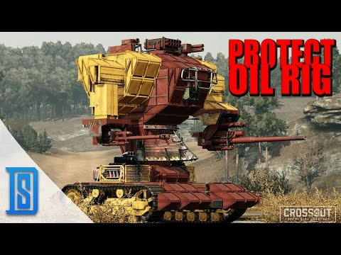 Crossout - PROTECT OIL RIGS/GETTING WIRE/MARKET QUICK GUIDE