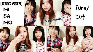 (트와이스) Twice Mina,Sana and Momo Funny Cut Moment Vlive