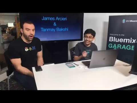 Watson Made Simple with Tanmay-E1: Building Pizza Chatbot with Watson Conversation (iOS&Twilio)