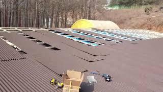 호야 지붕공사 인천 서구 불로동 교회 판넬 지붕개량공사…