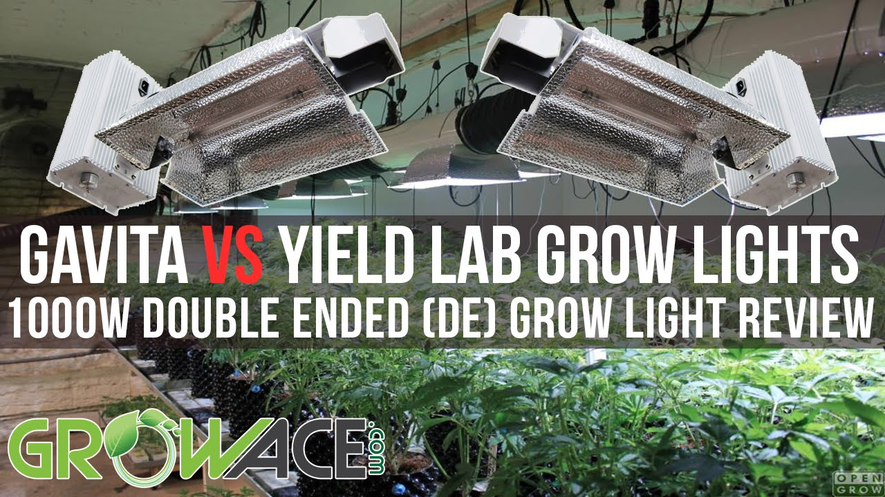 1000w De Double Ended Gavita Vs Yield Lab Grow Lights