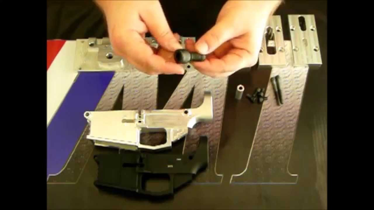 M1 Machining Universal Jig for AR10 and AR15 80 Percent Lower Receivers by  M1 Machining