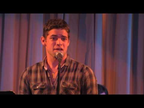Jeremy Jordan singing