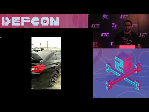 DEF CON 25 IoT Village - Aaron Guzman - Hide Yo Keys,  Hide Yo Car