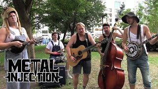 "LED ZEPPELIN ""Black Dog"" Hillbilly Version by STEVE N SEAGULLS 