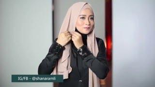 Simple Loose Chiffon Wear hijab shawl
