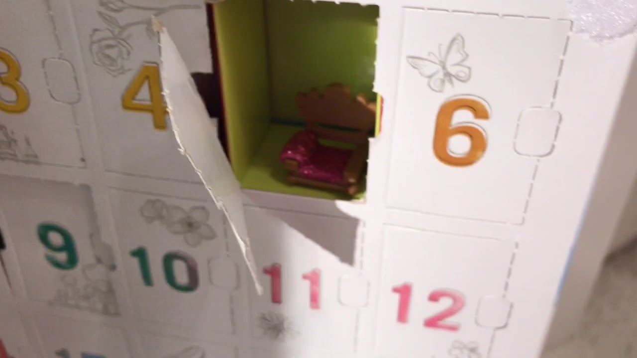 DISNEY ADVENTSKALENDER VERLOSUNG