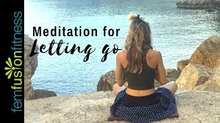 Ujjayi Breathing + Letting Go of Pain or Anxiety (Meditation)