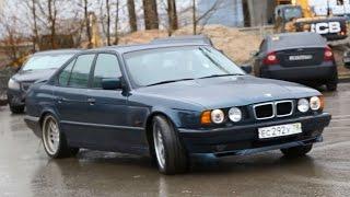 Жмурки BMW 540i E 34. Когда в автомобиль вкладываешь душу - он дарит эмоции!