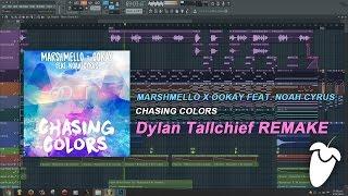 Marshmello x Ookay Feat. Noah Cyrus - Chasing Colors (FL Studio Remake + FLP)