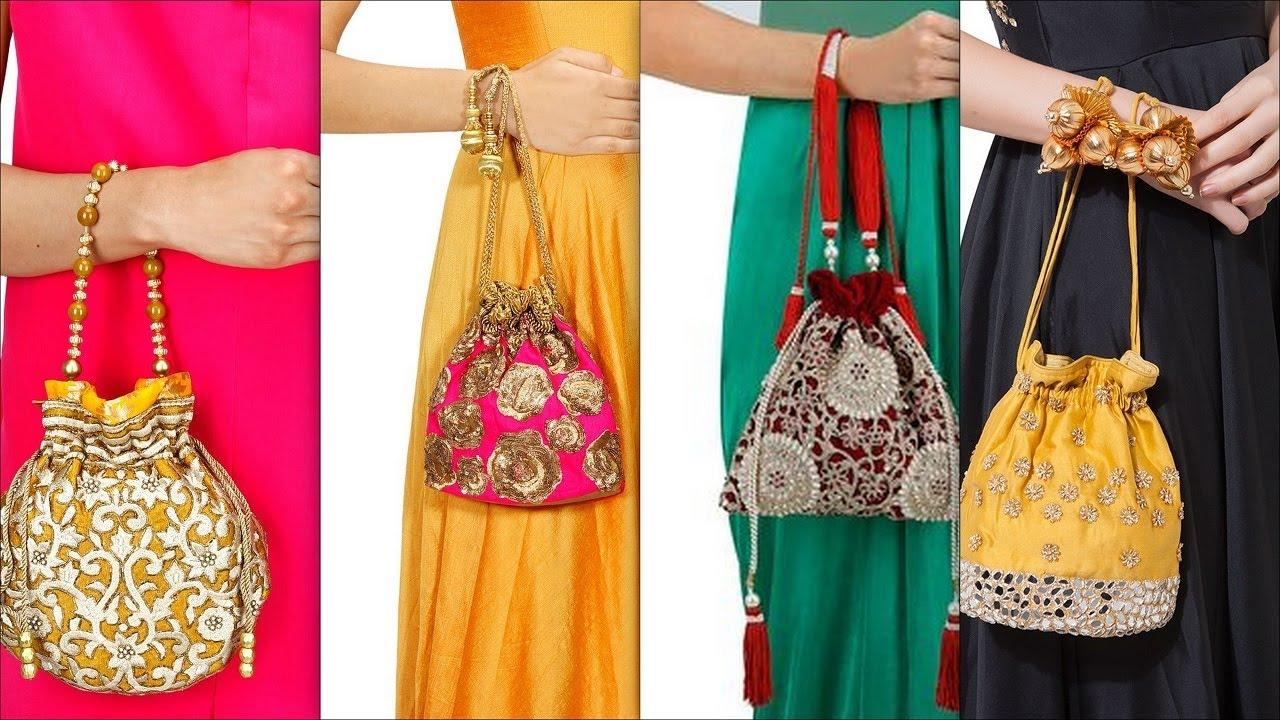 Latest Potli Bags Designer For Party Handmade