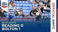 HIGHLIGHTS | Reading 0-1 Bolton Wanderers
