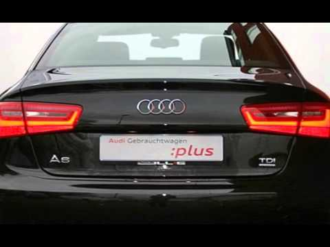 audi a6 3 0 tdi quattro stronic neues modell youtube. Black Bedroom Furniture Sets. Home Design Ideas