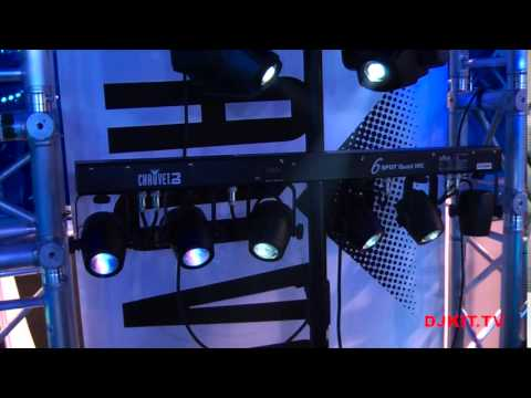 chauvet intimidator spot duo 150 and 6 spot quad irc namm 2015 with djkit tv youtube. Black Bedroom Furniture Sets. Home Design Ideas