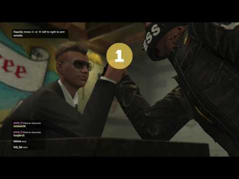 HOW TO ARM WRESTLE IN GTA5