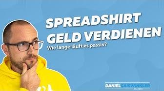 Spreadshirt Geld verdienen Erfahrung | Casestudy | Tshirtbusiness erfahrungen