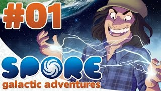 Spore: Galactic Adventures Gameplay/Walkthrough | Part 1: Bad Cell Life