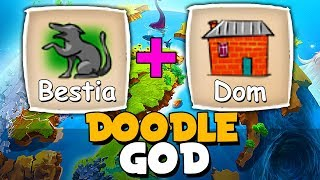 BESTIA + DOM =  CO POWSTANIE? | DOODLE GOD #5 PL