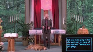 """Worship:   Sunday, May 23, 2021 """"Paraclete"""""""