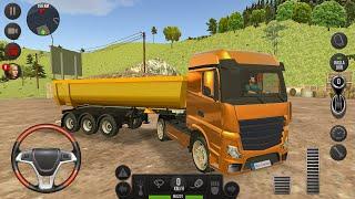 Direksiyonlu Kamyon Sürüş Oyunu 🚚 - Çocuk Kamyon Oyunları 16  Truck Simulator  Europe