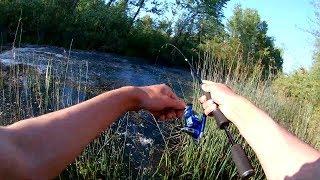 Рыбалка на ЩУКУ . щука на УЛЬТРАЛАЙТ .ловля щуки в жару
