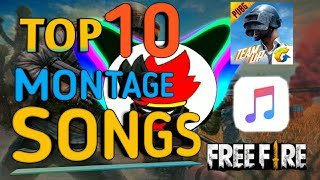 TOP 10 MONTAGE SONG WITH DOWNLOAD LINK |NO COPYRIGHT| BEST GAMING MUSIC 2020