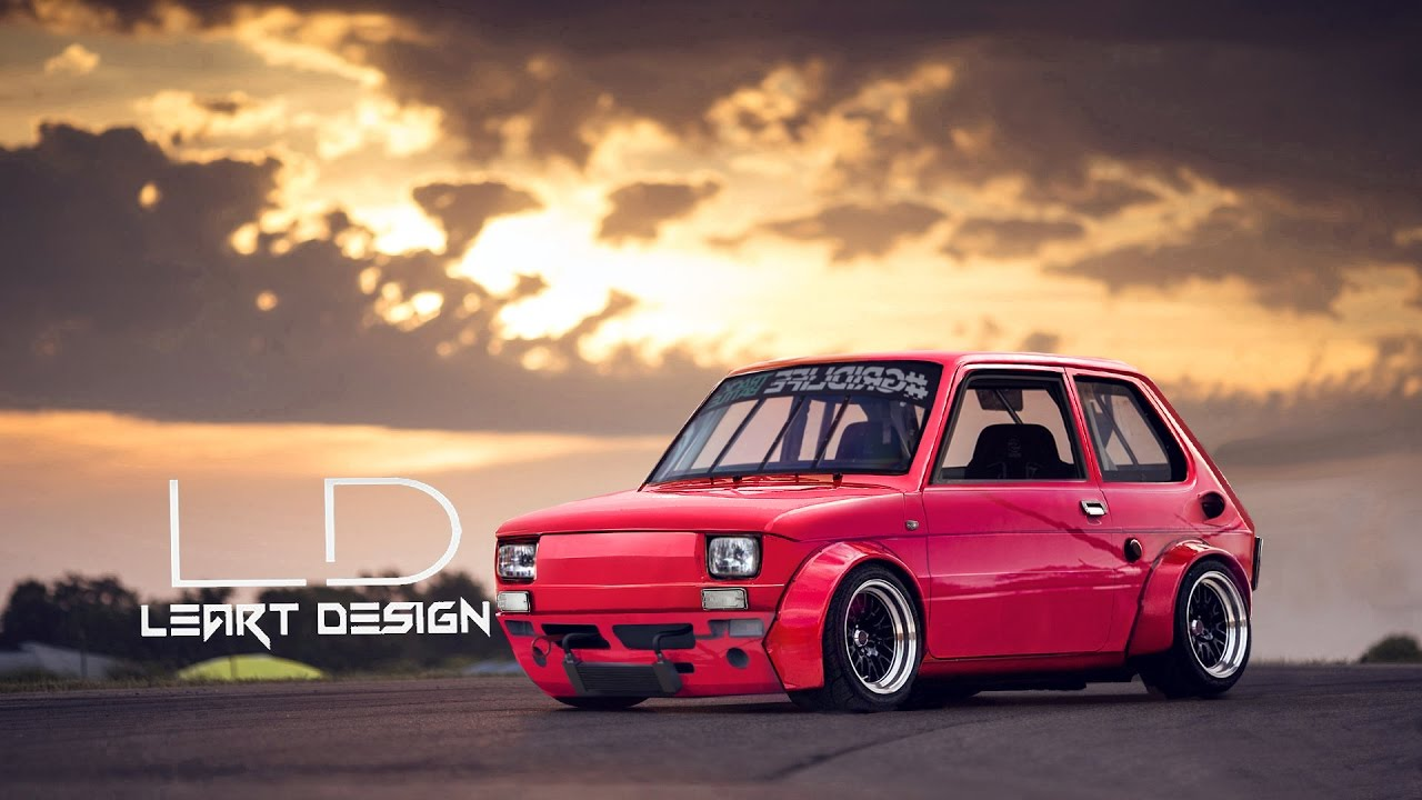 virtual tuning fiat 126 photoshop tuning youtube. Black Bedroom Furniture Sets. Home Design Ideas