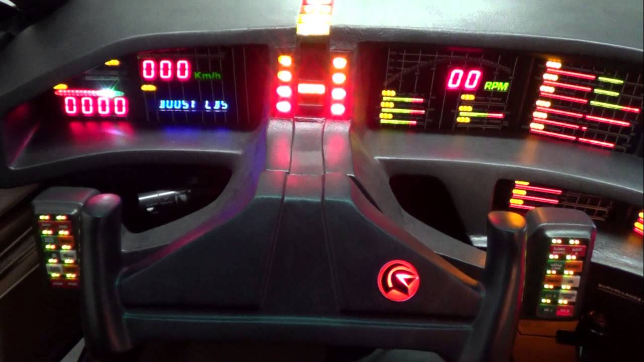 Mein Knight Rider Kitt Replica Kleine Unterhaltung Mit K