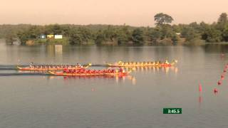 27th SEA GAMES MYANMAR 2013 - Traditional Boat Race 18/12/13