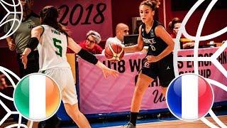 Ireland v France - Full Game - FIBA U18 Women