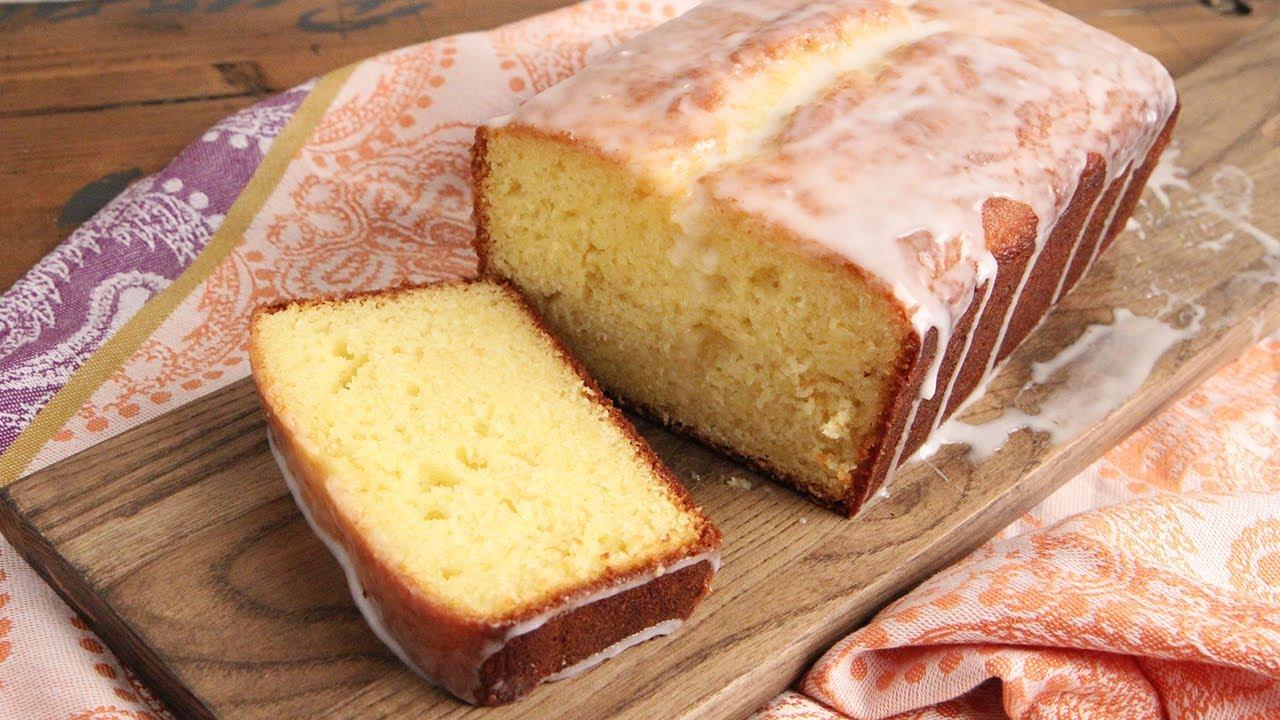 Homemade Lemon Loaf Cake Episode 1179 Youtube