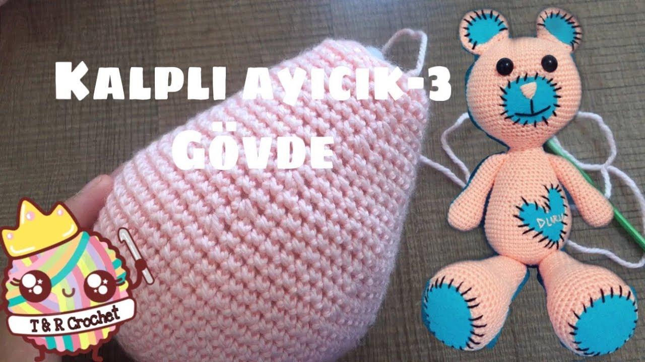 Ayı Bombon Yapımı 1 (Baş) Amigurumi Örgü Oyuncak Amigurumi Crochet ... | 720x1280