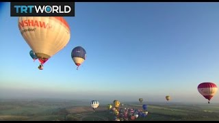 Hot Air Balloons: New record attempt across the English Channel