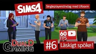 The Sims 4 med Ufosxm - #6 - Läskigt spöke!