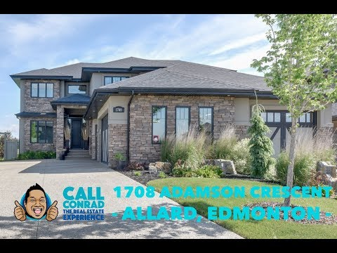 Edmonton Luxury Home | 1708 Adamson Crescent | Allard | Conrad Bitangcol, EDMONTON REALTOR®