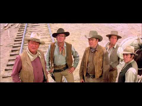"John Wayne Westerns Collection: The Train Robbers - ""Liar"" Clip"
