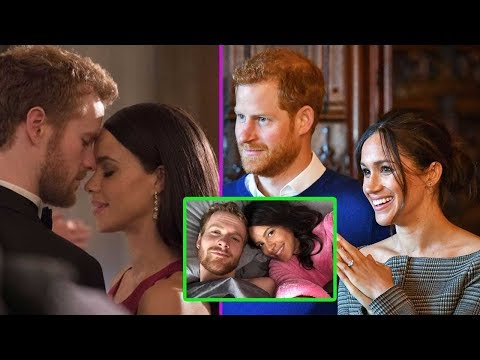 Parisa Fitz-Henley and Murray Fraser show off their resemblance to Harry and Meghan as they step out