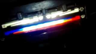 Подсветка печки (итог) 2109