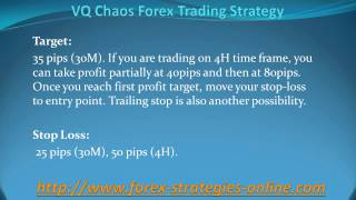 VQ Chaos Forex Trading Strategy