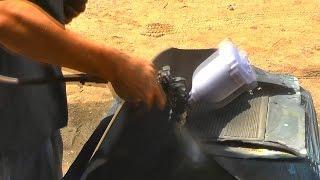 Испытания покрасочного пистолета. Под грунт(, 2014-08-17T10:59:33.000Z)