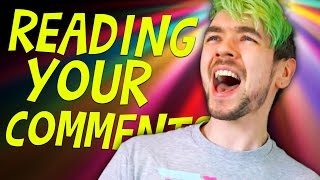 SINGING MAN JACK | Reading Your Comments #89