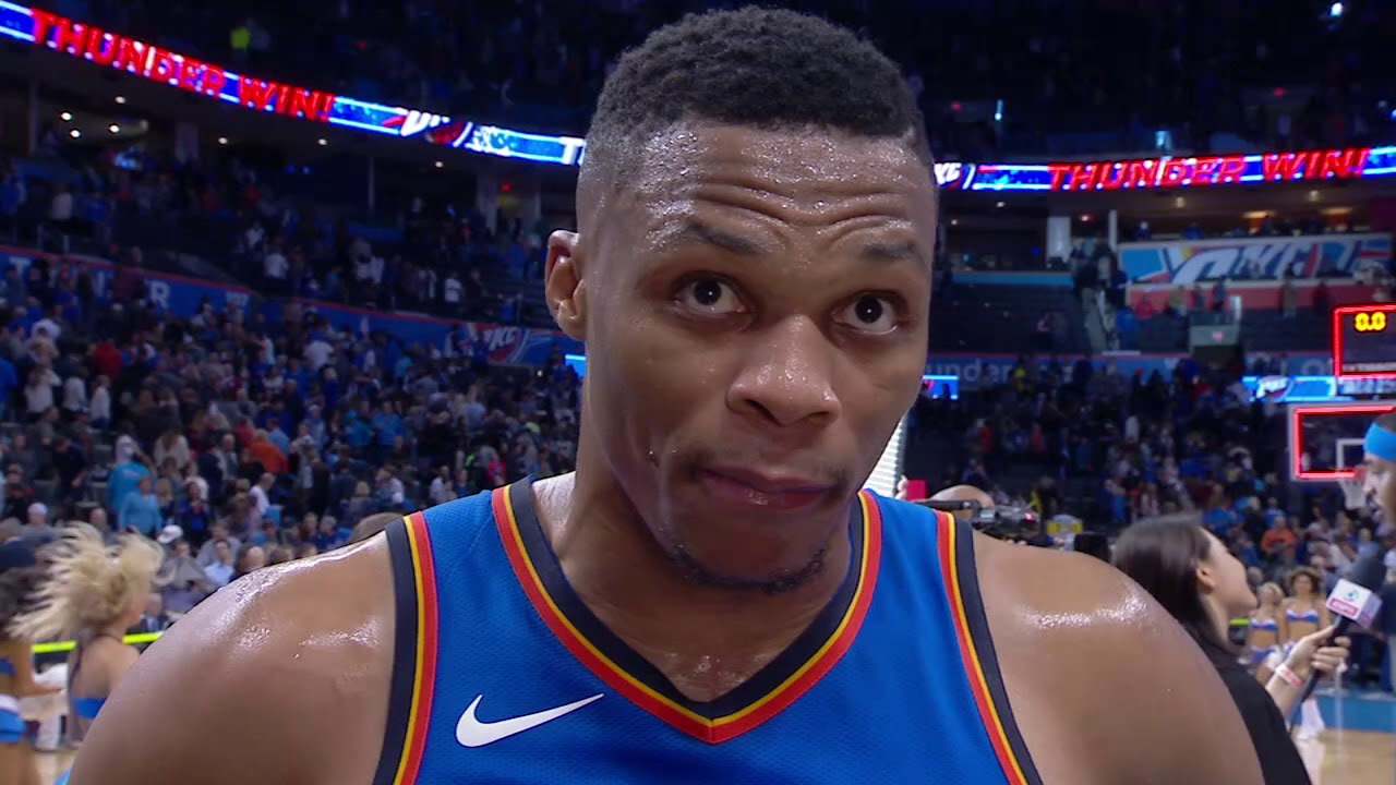 439ea46fbd6b Russell Westbrook describes his mental toughness during his match against  the Warriors
