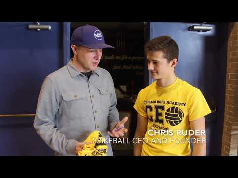 Spikeball Partners with CHA Student Entrepreneurs