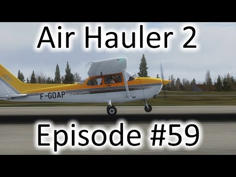 FSX | Air Hauler 2 Ep. #59 - 2 Jobs to Batavia | C-172