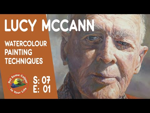 Fine art tips on How to Paint Watercolours with Lucy McCann on Colour In Your Life