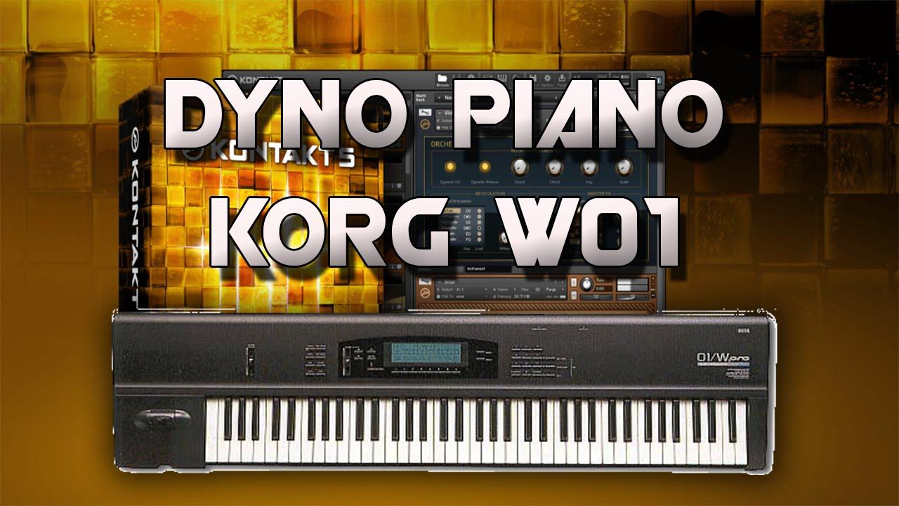 DYNO PIANO KORG 01/W PARA KONTAKT 5   1 LINK MEDIAFIRE